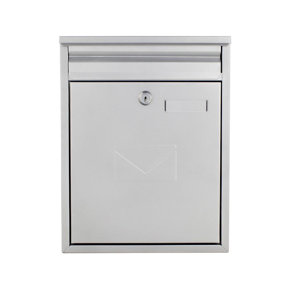 Profirst Mail PM 250 Briefkasten Silber