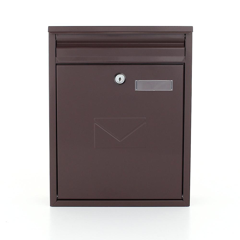 Profirst Mail PM 250 Briefkasten Braun