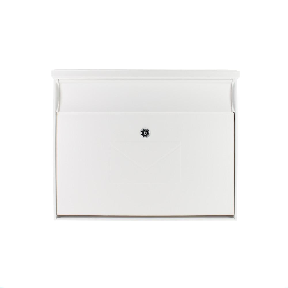 Profirst Mail PM 430 Kunststoff Briefkasten Weiß