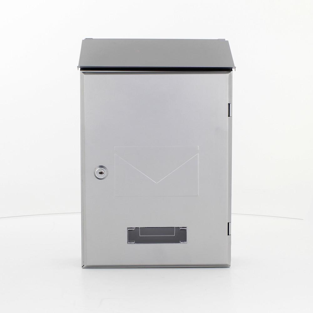 Profirst Mail PM 560 Briefkasten Silber
