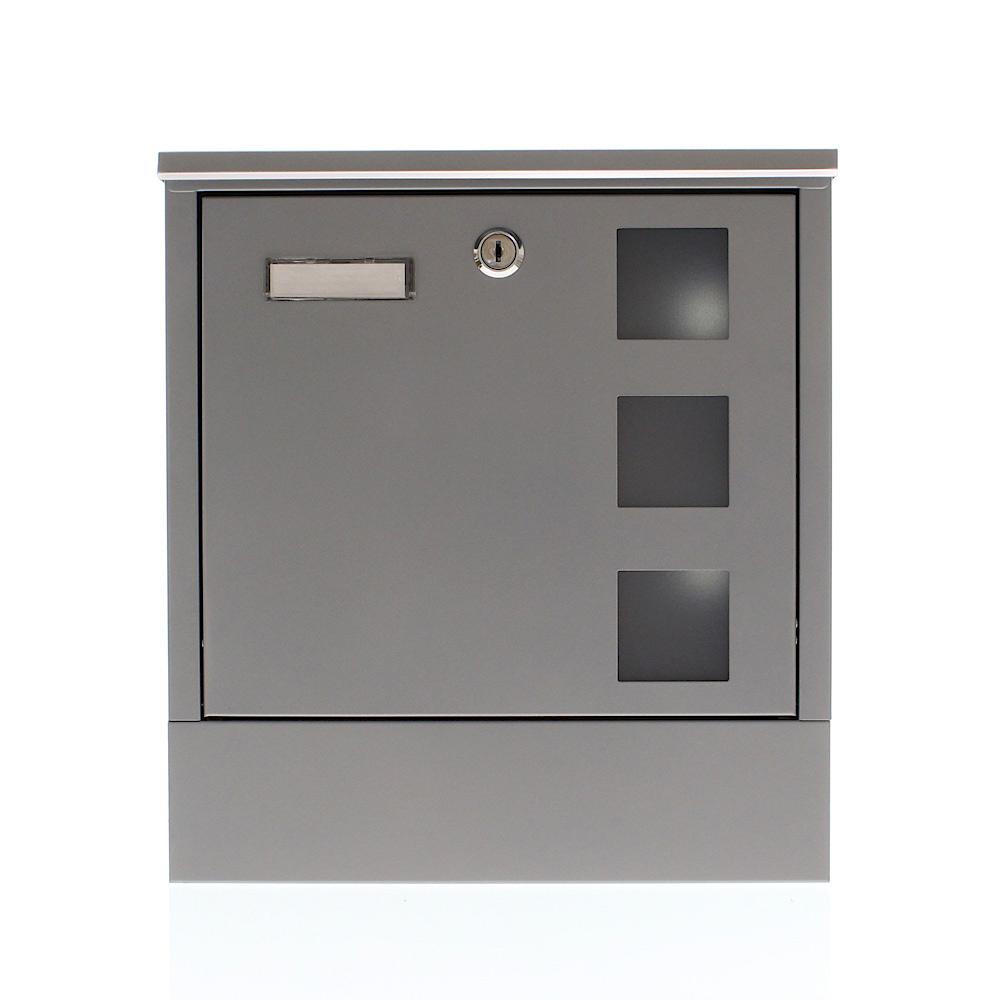 Profirst Mail PM 820 Briefkasten Silber