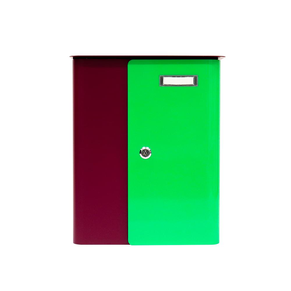 Rottner Briefkasten Splashy BERRY Neongrün