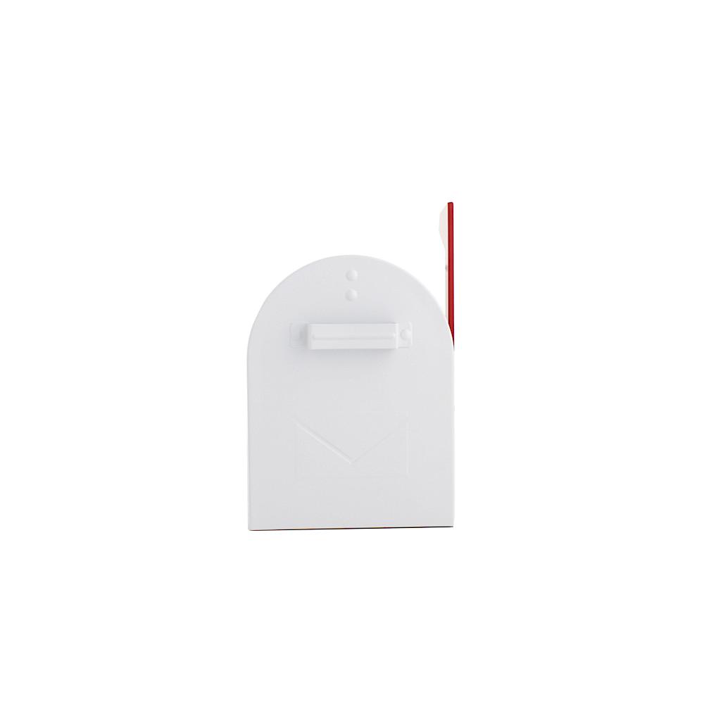 Rottner Briefkasten Mailbox ALU weiß